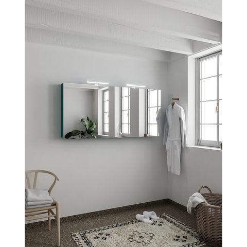 Mondiaz Cubb spiegelkast 150x70x16cm met 3 deuren - Smag