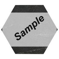 Sample - Fap Hexagon Roma Grafite mat 21,6x25