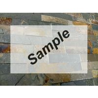 Sample - Kerabo Schiste flatface stonepanel rusty slate 15x60x1/2