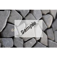 Sample - Kerabo Grey marmer scherven getrommeld mixed maten
