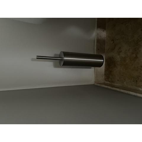 Clou Sjokker toiletborstelgarnituur staand chroom