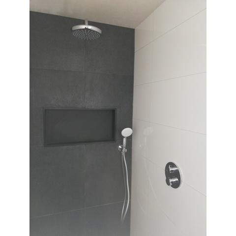 Brauer Black Edition inbouw nis 30x60cm mat zwart