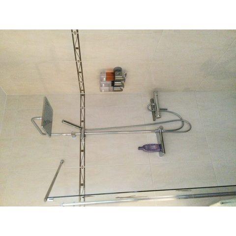 Hansgrohe Crometta E 1jet hoofddouche 24x24 cm. ecosmart chroom